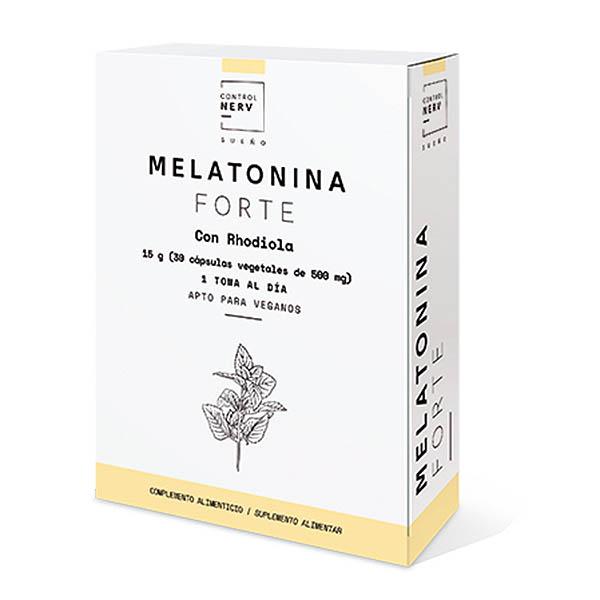 MELATONINA FORTE con Rhodiola (30 cápsulas)