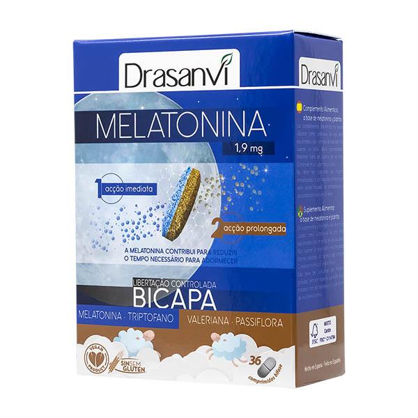 MELATONINA BICAPA RETARD (36 comprimidos)