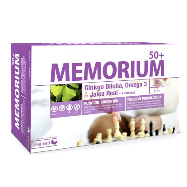 MEMORIUM 50+ (30 ampollas)