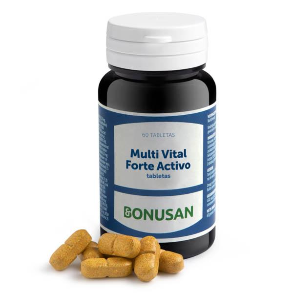 MULTI VITAL FORTE ACTIVO (60 tabletas)