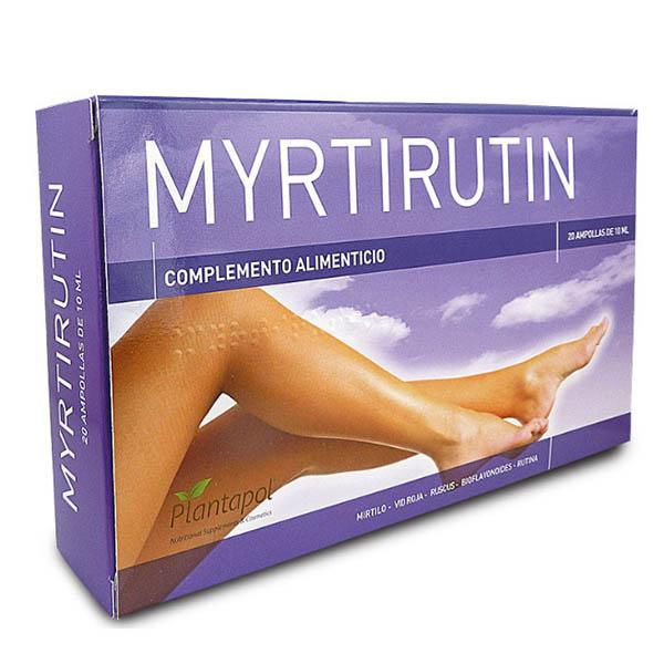 MYRTIRUTIN (20 ampollas)
