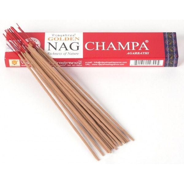 Incienso NAG CHAMPA GOLDEN (15 g, aprox 15 sticks)
