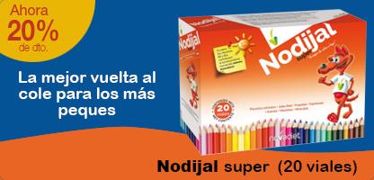 NODIJAL SUPER - Jalea real niños (20 viales)
