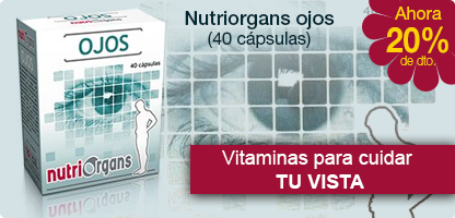 NUTRIORGANS Ojos (40 cápsulas)
