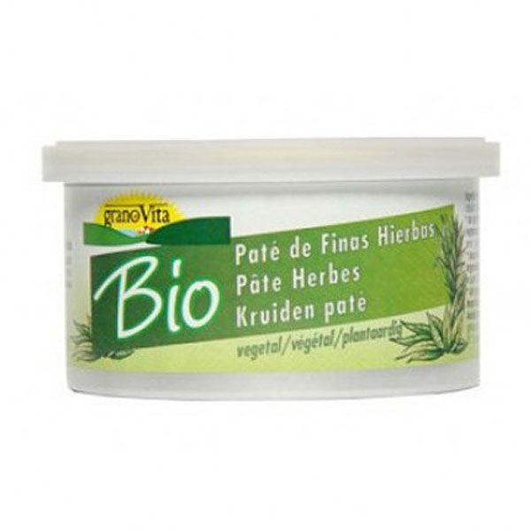 PATÉ VEGETAL BIO Finas hierbas (125 gr.)