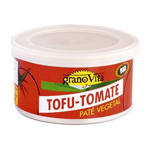 PATÉ  VEGETAL BIO Tofu-Tomate (125 gr.)