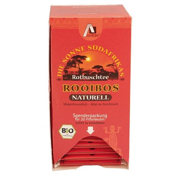ROOIBOS Natural Bio (20 filtros)