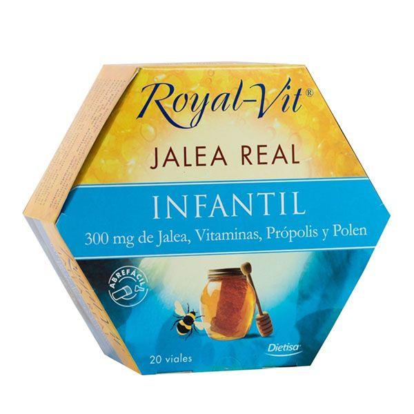 Royal-Vit INFANTIL (20 viales)