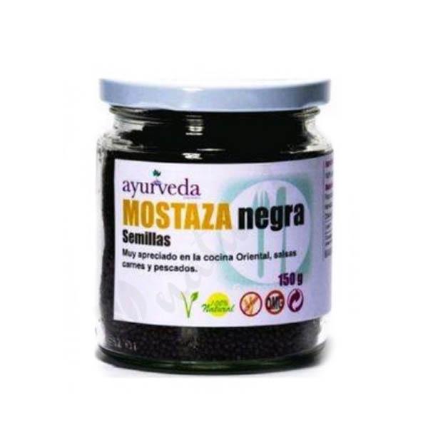 MOSTAZA NEGRA SEMILLAS 150 gr.
