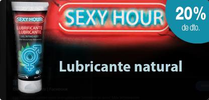 SEXY HOUR- Gel lubricante (100 ml)