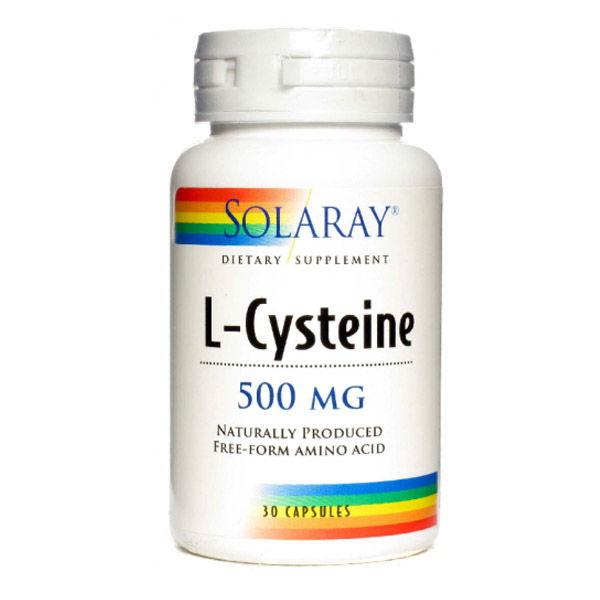 L-CYSTEINE 500 mg. (30 cápsulas)