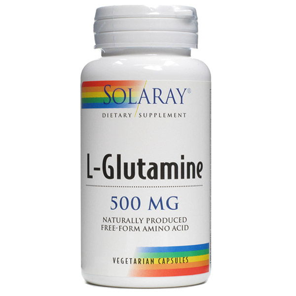 L-GLUTAMINA 500 mg. (50 cápsulas)