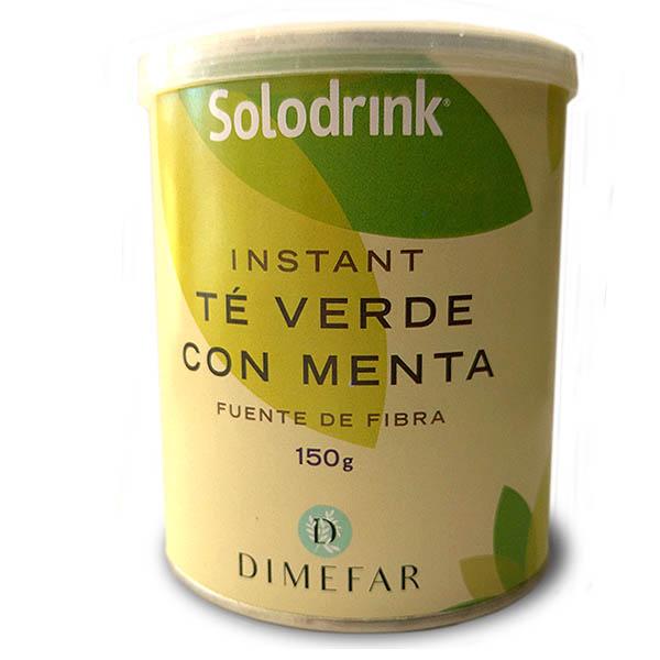 SOLODRINK - Té verde + Fibra + Menta (150 g)