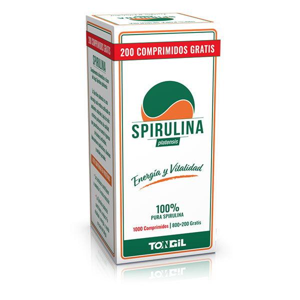 SPIRULINA ( 800 + 200 comprimidos)