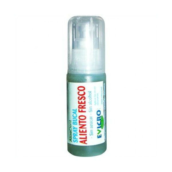 SPRAY BUCAL  Aloe vera, aliento fresco (30 ml)