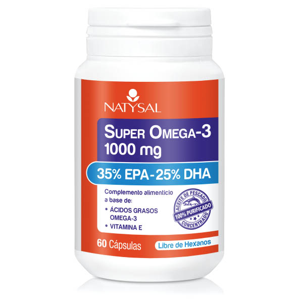 SUPER OMEGA 3 (60 cápsulas)
