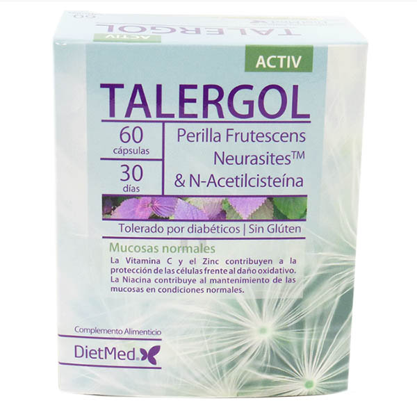 TALERGOL activ (60 cápsulas)