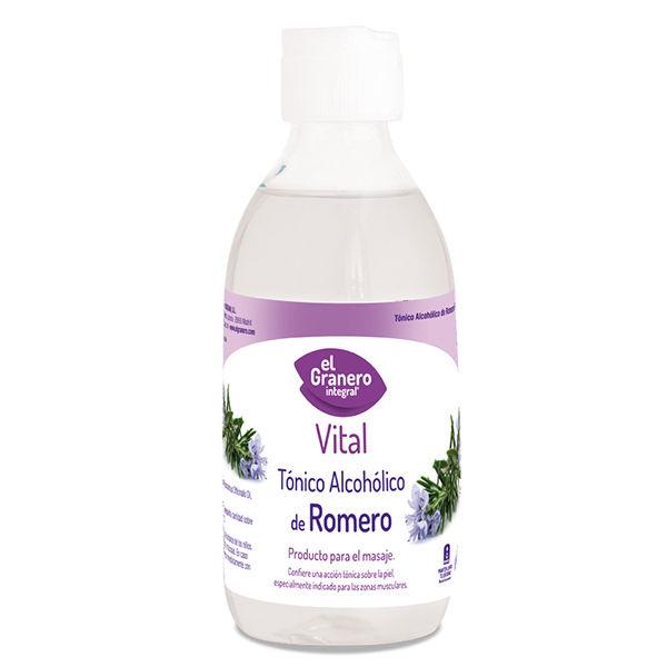 TÓNICO ALCOHÓLICO de Romero (250 ml.)