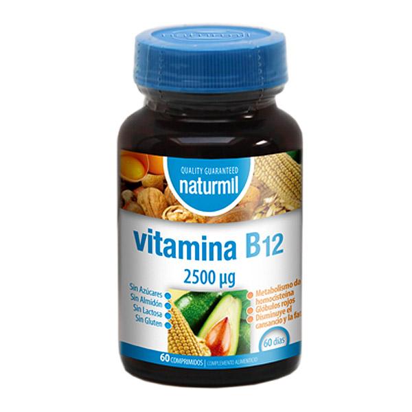 VITAMINA B12 2500 mcg.  (60 comprimidos)