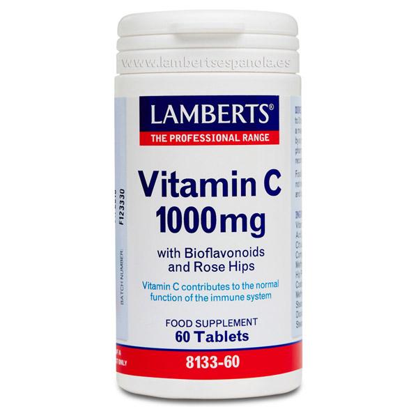 VITAMINA C 1000 mg (60 comprimidos)