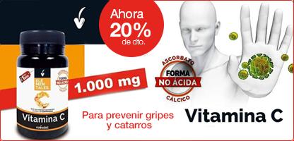 VITAMINA C 1000 mg. (30 comprimidos)