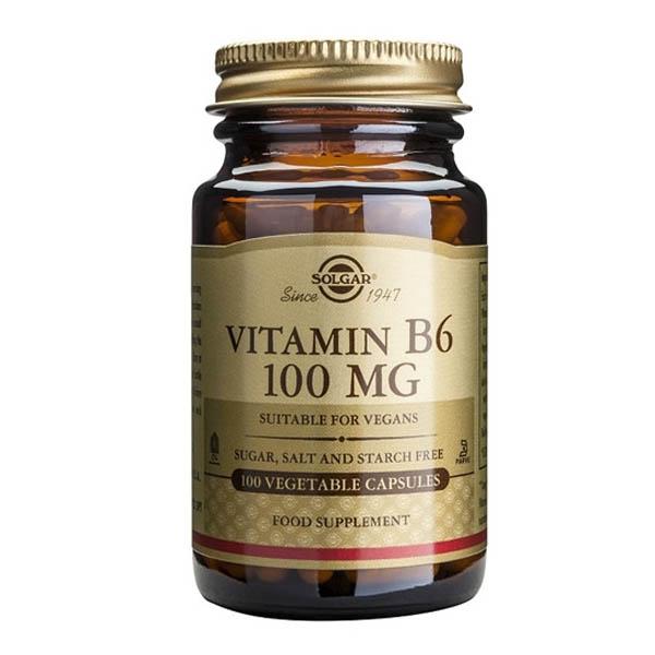 VITAMINA B6 100 mg (100 cápsulas)