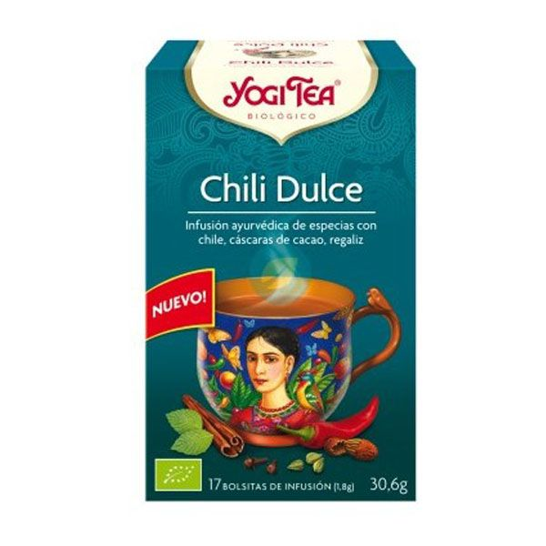 YOGI TEA Chili Dulce bio (17 filtros)