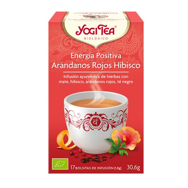 Yogi tea ENERGIA POSITIVA Arándano rojo bio (17 filtros)