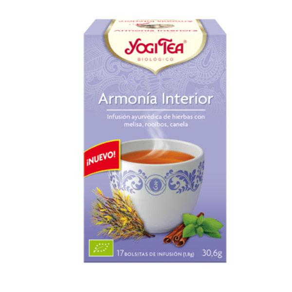 Yogi Tea ARMONIA INTERIOR bio (17 filtros)