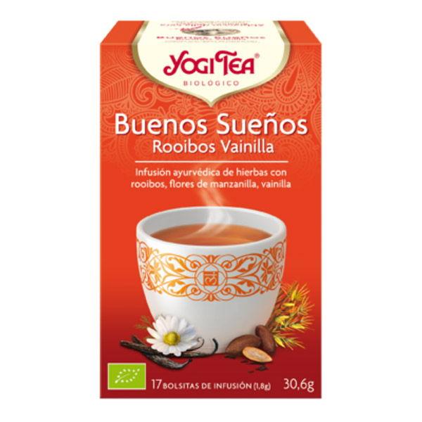 YOGI TEA Buenos Sueños (Rooibos, Vainilla) (17 filtr.)