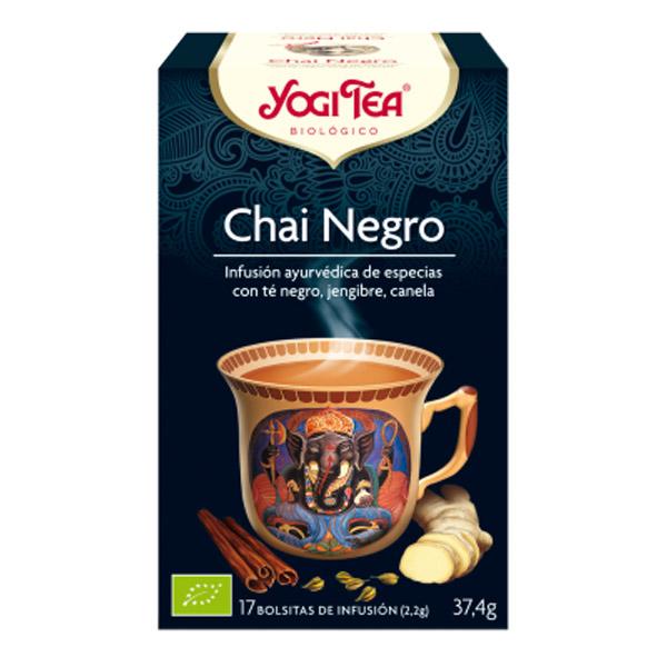 YOGI TEA Chai negro bio (17 filtros)