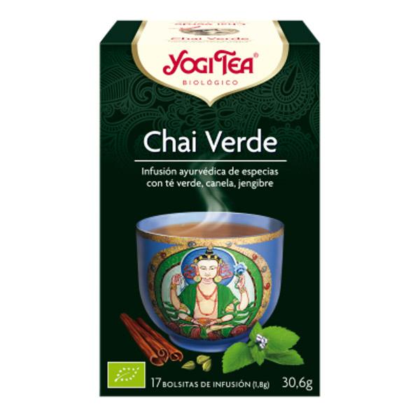 YOGI TEA Chai verde Bio (17 filtros)