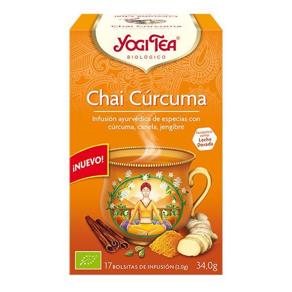 Yogi Tea CHAI CURCUMA bio (17 filtros)
