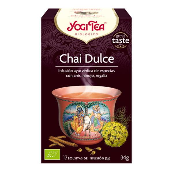 YOGI TEA Chai dulce Bio (17 filtros)