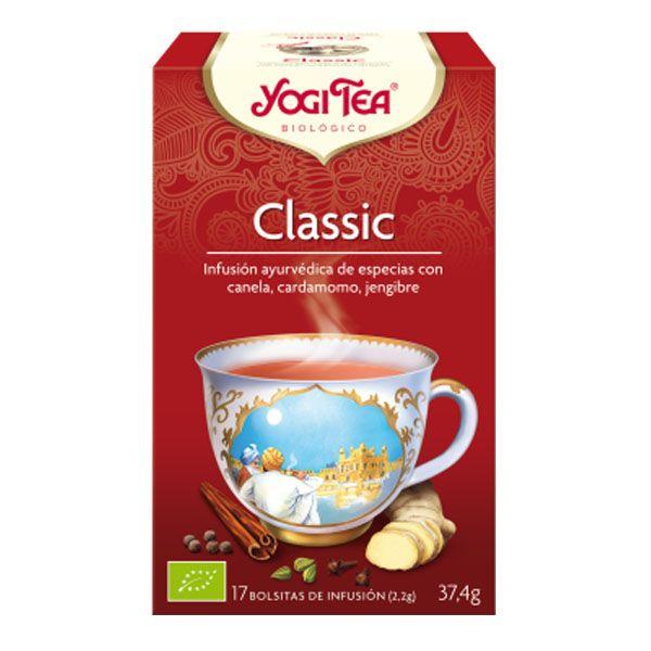 YOGI TEA Classic bio (17 filtros)