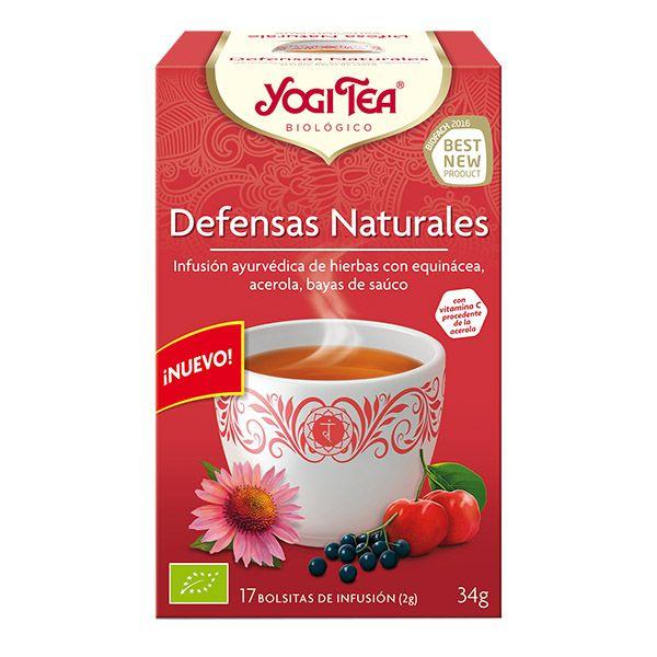 YOGI TEA Defensas naturales bio (17 filtros)