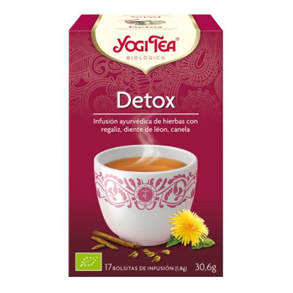 YOGI TEA Detox bio (17  filtros)