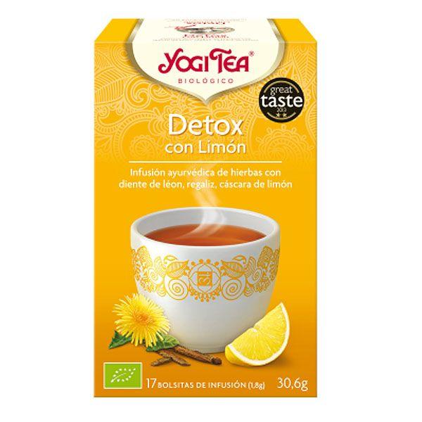 YOGI TEA Detox limón bio (17 filtros)