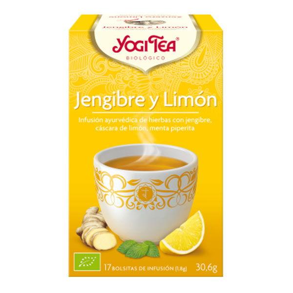 YOGI TEA Jengibre y limón bio (17 filtros)