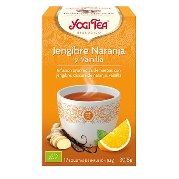 Yogi Tea JENGIBRE NARANJA bio (17 bolsitas)