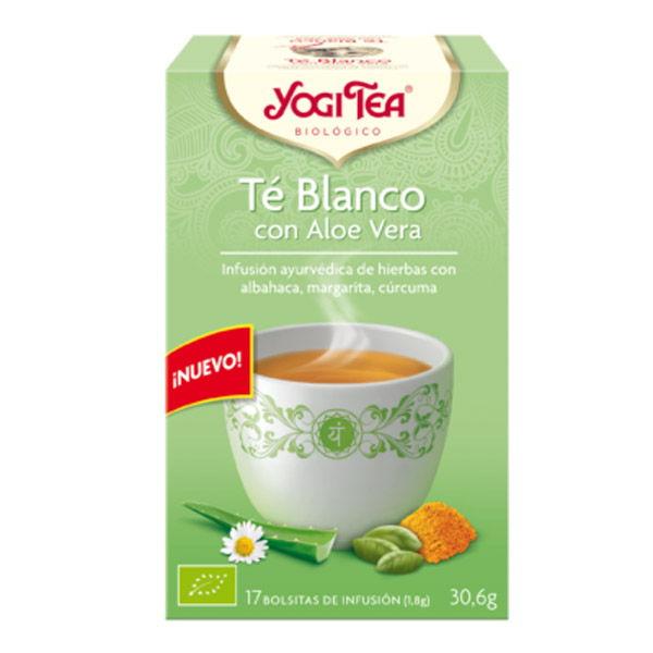 Yogi Tea TE BLANCO CON ALOE VERA bio (17 filtros)