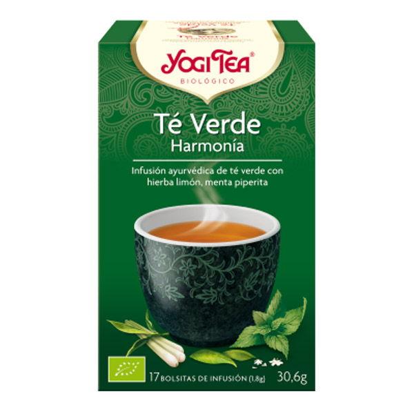 YOGI TEA Té verde harmonia bio (17 filtros)