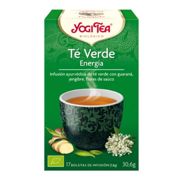 Yogi Tea TÉ VERDE ENERGÍA bio (17 filtros)