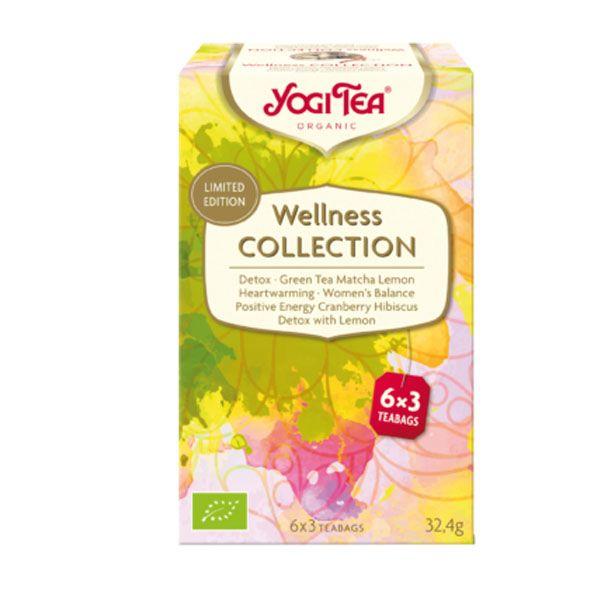 YOGI TEA Wellness Collection bio (18 filtros)