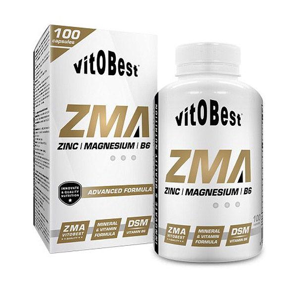 Zma Zinc Magnesio Vitamina B 6 Aumentar La Testosterona Y El Igf 1